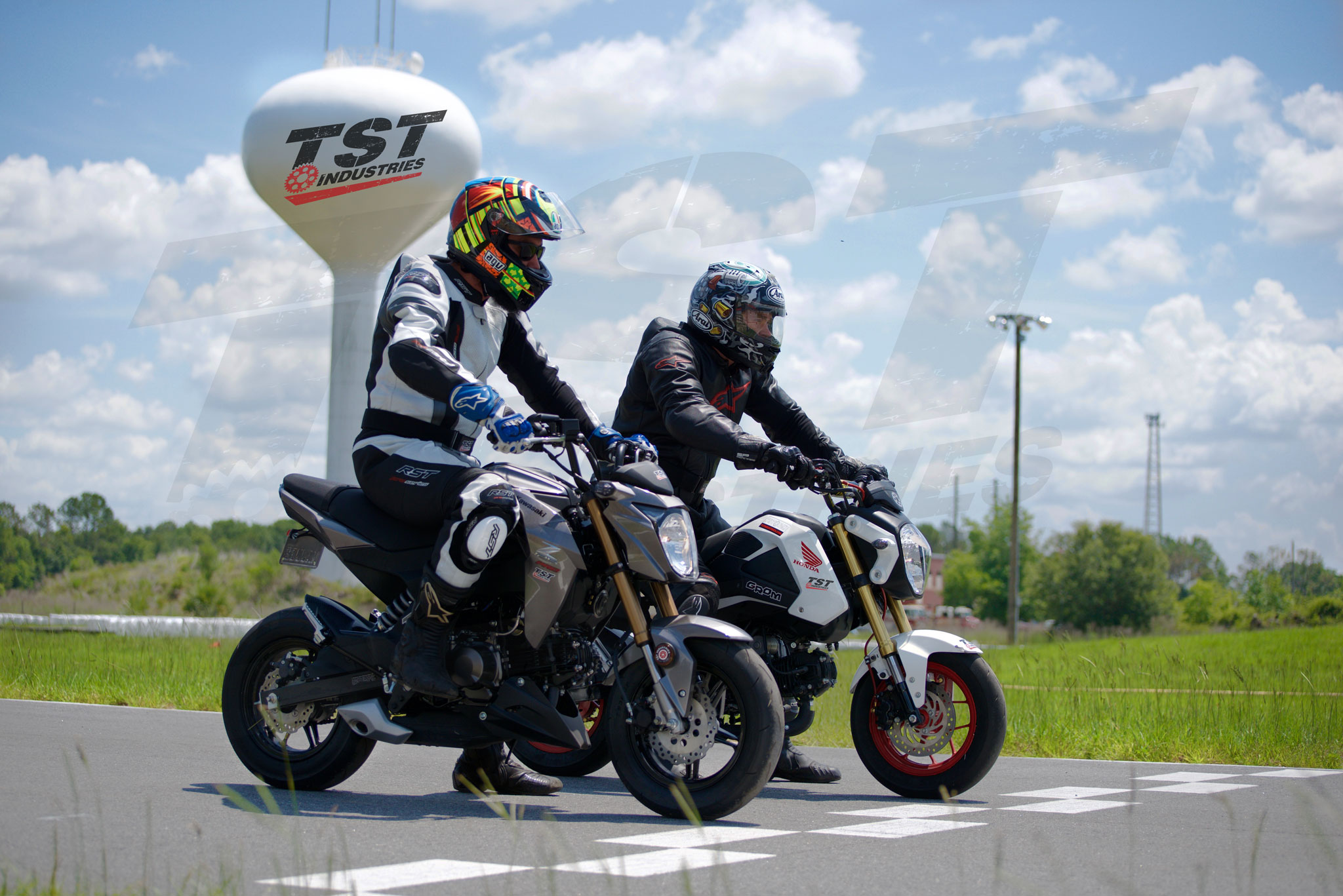 Real Test Honda GROM VS Kawasaki Z125 – TST Industries Blog