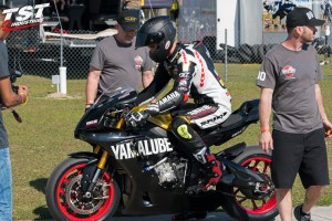 TST test and tune weekend with Yamalube Westby team