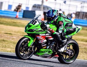 Shane Richardson at the Daytona 200