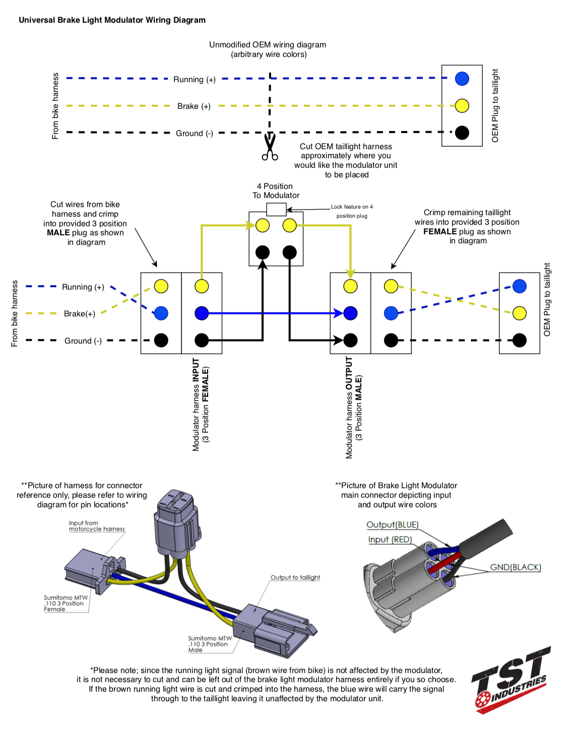 Wiring Harness For Brake Lights