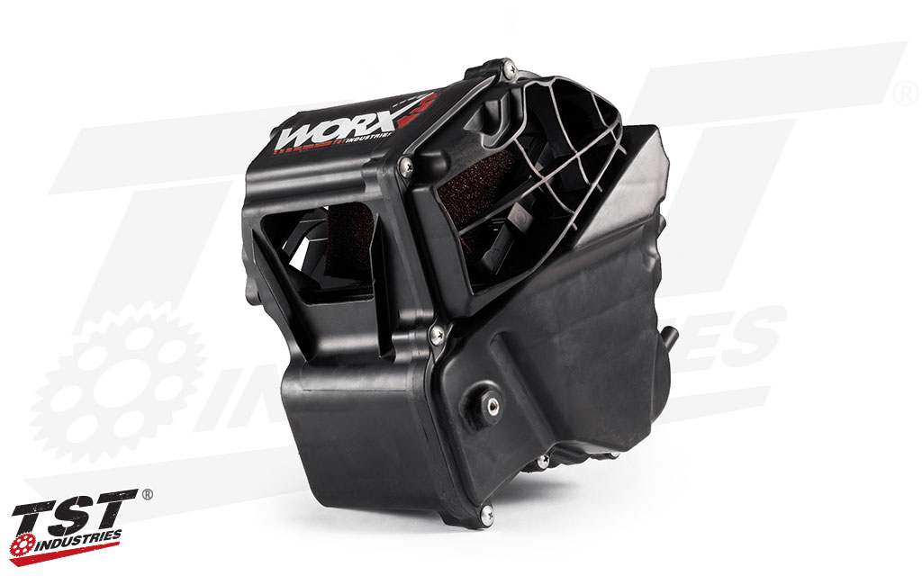 TST Industries Yamaha R3 WORX Airbox Modification