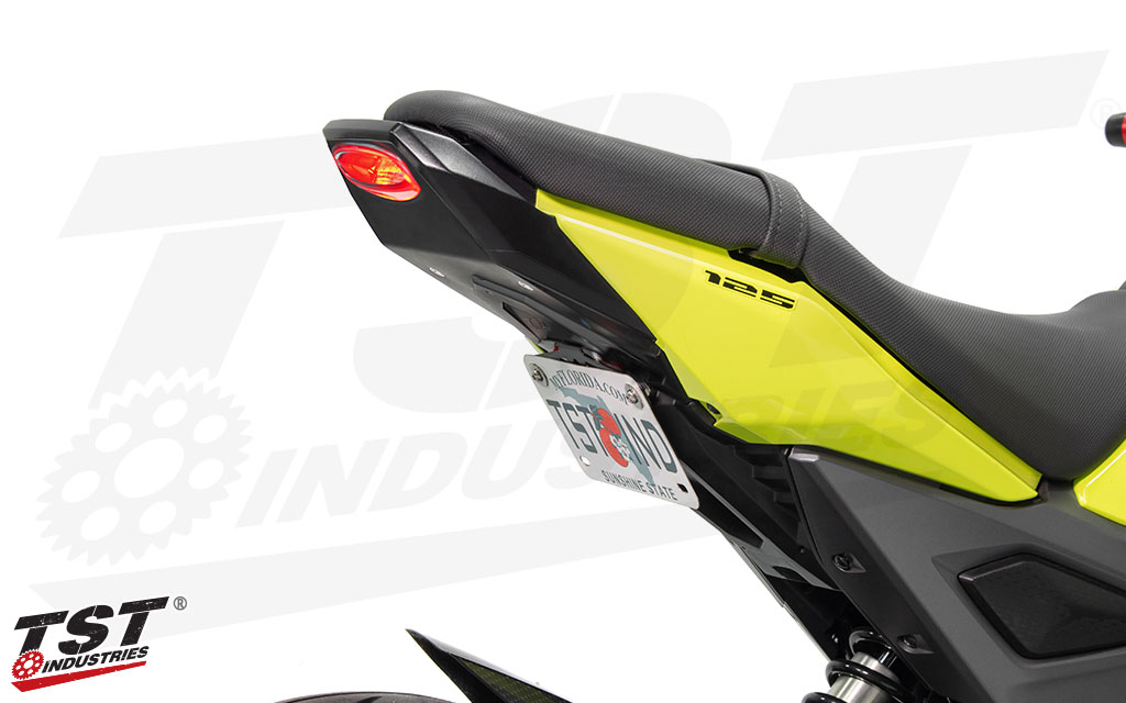 Breaking Down The Honda Grom Integrated Tail Light And