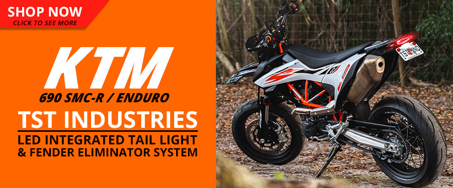 Upgrade your KTM 690 SMC-R / Enduro with the all new TST LED Integrated Tail Light and Fender Eliminator System