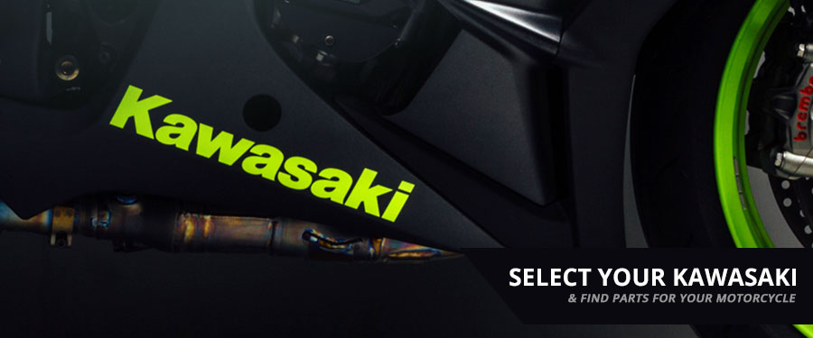 Select your Kawasaki and discover parts to take your ride to the next level.
