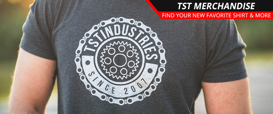 Find your new favorite TST Industries shirt!