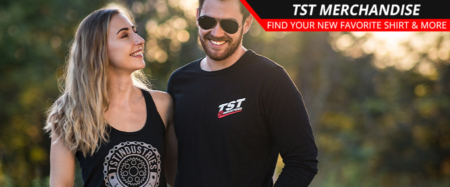 Find TST Industries shirts, hoodies, tanks, and more for both men and women!
