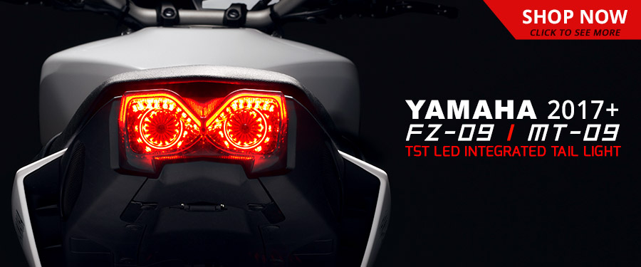 TST Industries 2017+ Yamaha FZ-09 / MT-09 Programmable and Sequential LED Integrated Tail Light is available now!