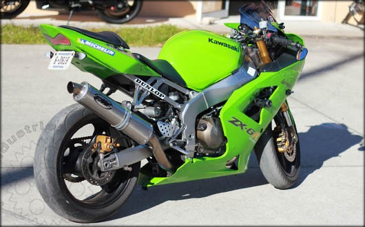 Kawasaki Zxr Fender Eliminator Kit
