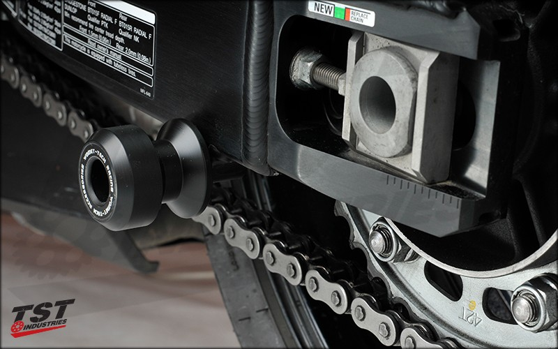 Swingarm Spool Sliders.