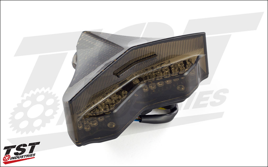 Smoked Lens LED Integrated Tail Light for the Yamaha R1.
