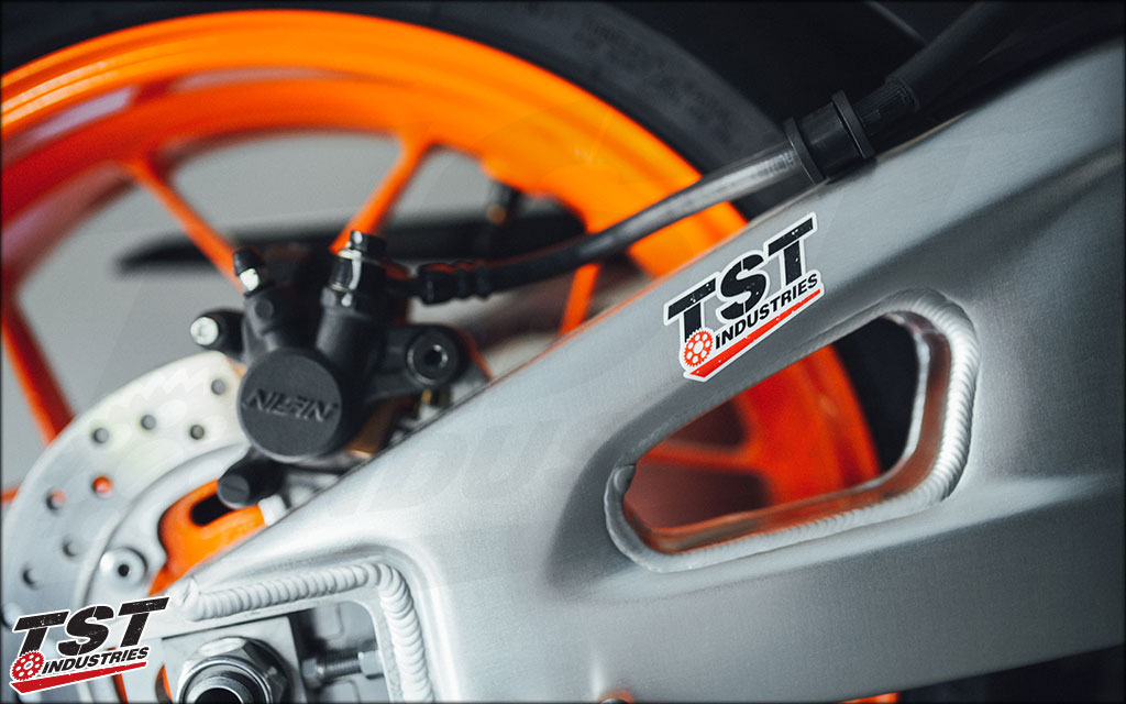 CBR600RR Repsol showing TST Industries love.