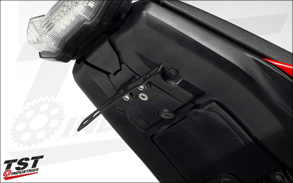 Undertail Closeout shown with our Fixed Fender Eliminator (sold separately).