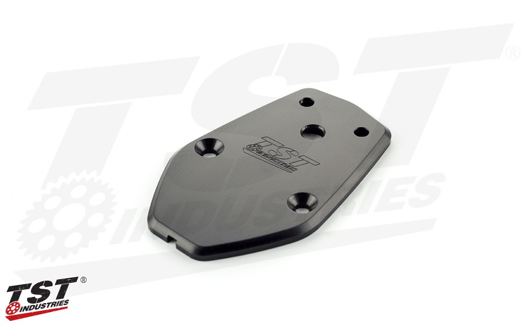 Kawasaki ZX-10R Undertail Closeout CNC Machined Aluminum with Anodized Finish