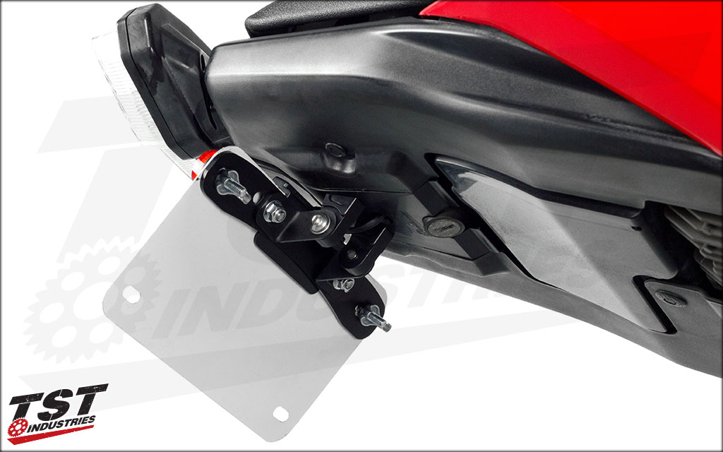 Undertail Closeout shown with our Elite-1 Adjustable Fender Eliminator (sold separately).