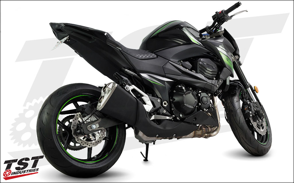 Transform your bike and give it a clean and sleek look with TST Industries.