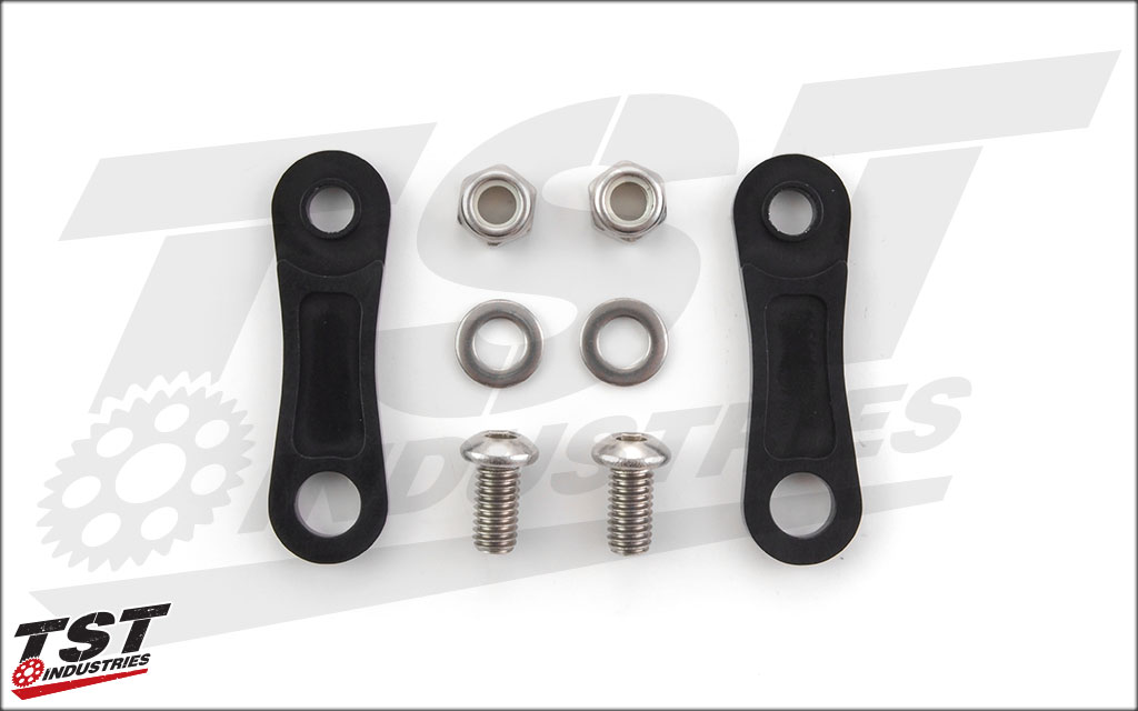 What's included in the Adjustable Fender Eliminator Extension Kit.