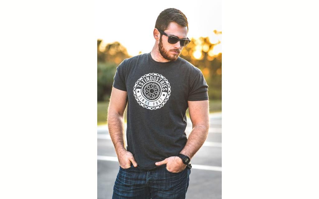 Charcoal TST Emblem T-Shirt.