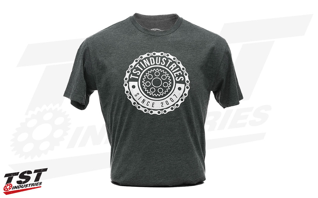 TST Emblem T-Shirt in Men's Charcoal.