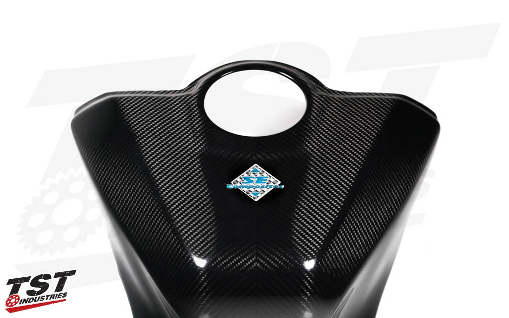 Version 2 of the SE Moto Carbon Fiber Tank Shroud offers more benefits over it's previous generation.