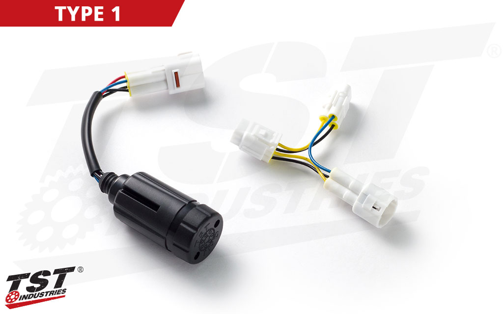 TST Brake Light Modulator for Select Suzuki OEM Tail Lights - TYPE 1 Shown