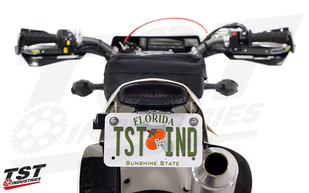 TST Fender Eliminator LED Integrated Tail Light system for the Suzuki DRZ400S / M.