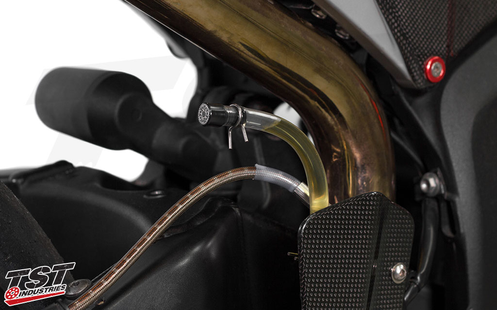 Ditch the boxy OEM reservoir for a lightweight solution that is simple and easy to install.