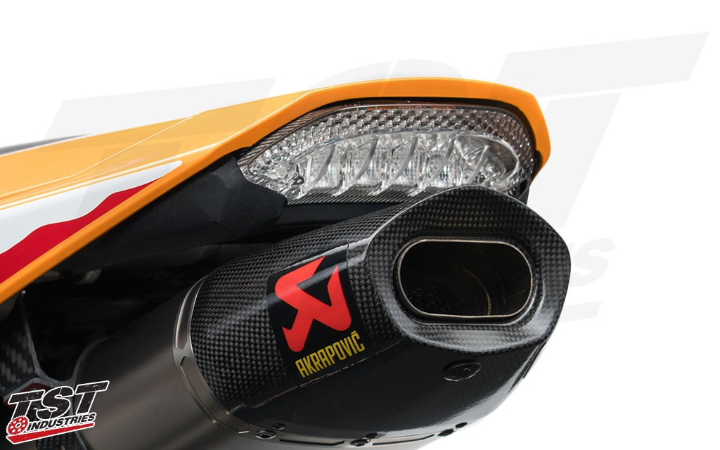 TST V2 Sequential and Programmable LED Integrated Tail Light.