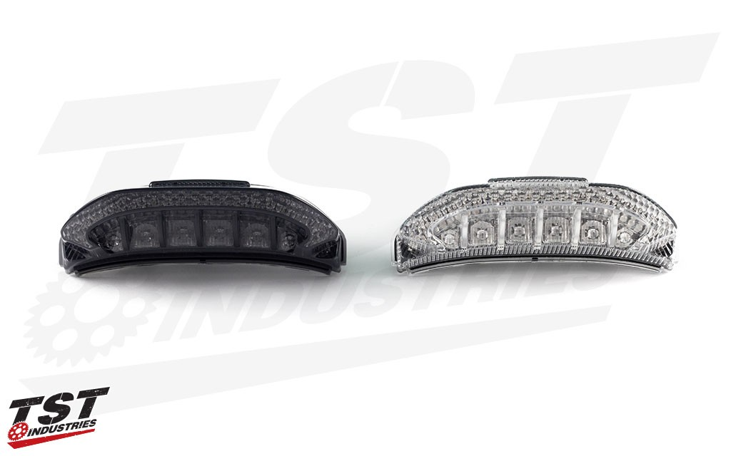 The V2 LED Sequential & Programmable Tail Light is available in smoke or clear.