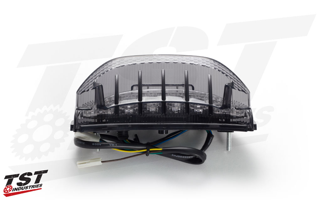 Give your 2013+ Honda CBR600RR sequential and programmable functionality with the brand new TST V2 Integrated Tail Light.