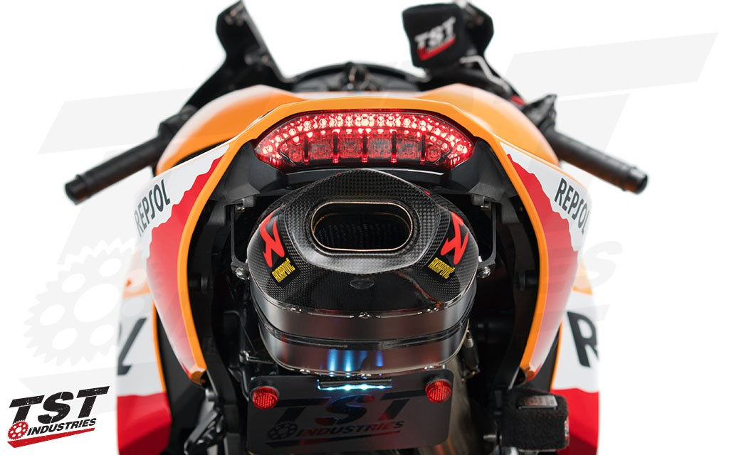 Upgrade your 2013+ CBR600RR with an all new lens design and 9 different light modes.