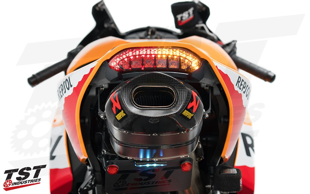 TST V2 Sequential & Programmable LED Integrated Tail Light.
