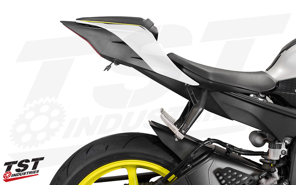 Standard fixed fender eliminator for the 2017+ Yamaha R6.