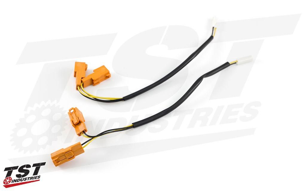 TST Kawasaki Y-Style Signal Harness Splitter on