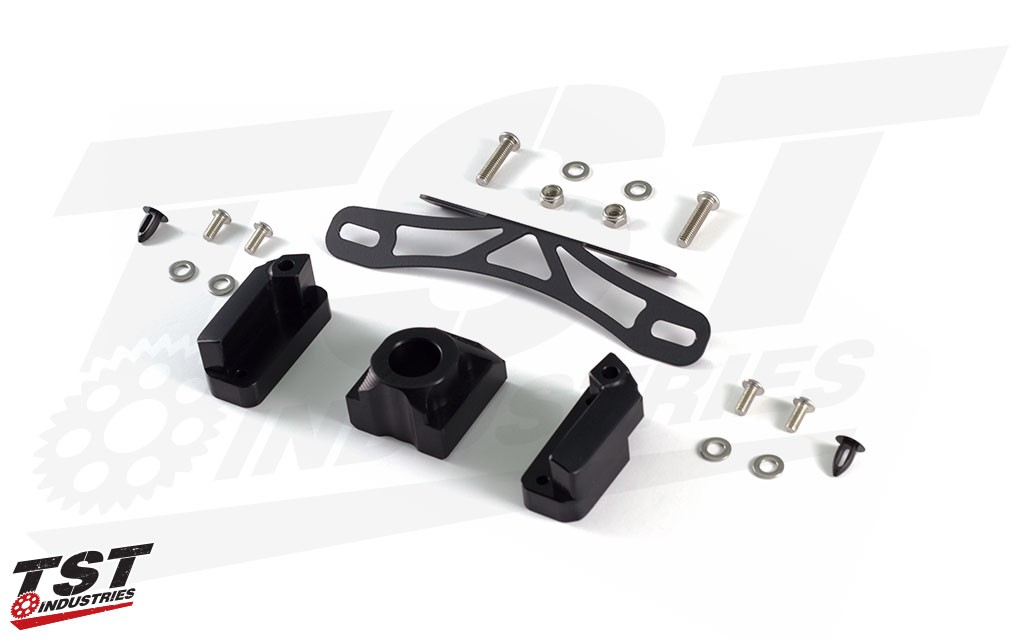 Included the Fixed High plate bracket, Axle Block, Undertail Closeout, and all the necessary installation hardware.