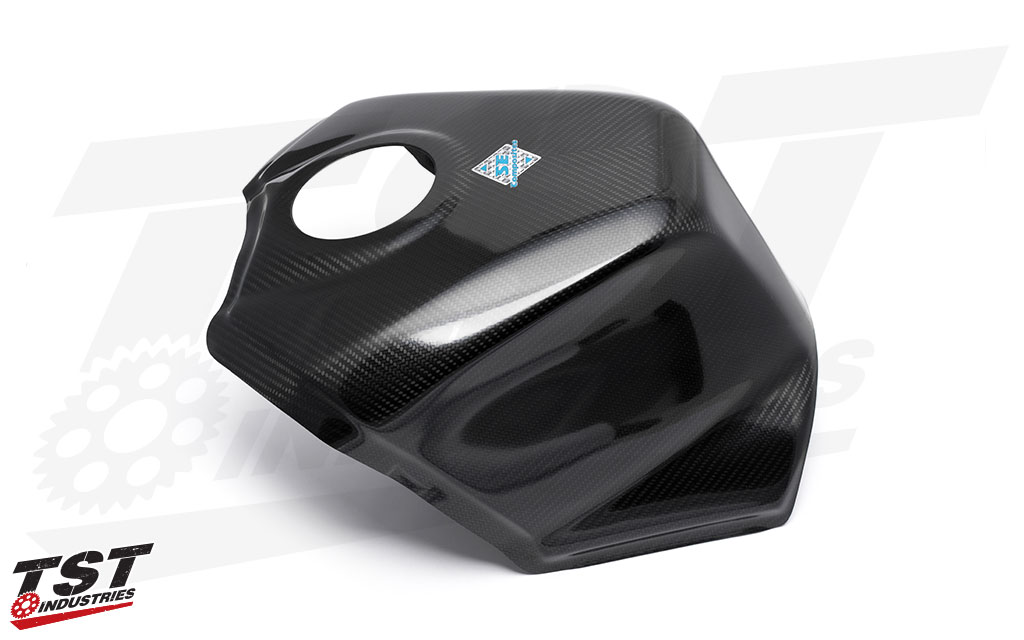 Designed and developed to fit precisely on the tank of the 2017+ Suzuki GSXR-1000 / GSX-R1000R