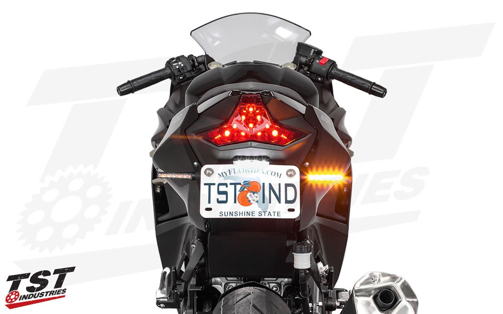 And provide extremely bright, eye-catching light when in use to bring as much attention to you on the road as possible.