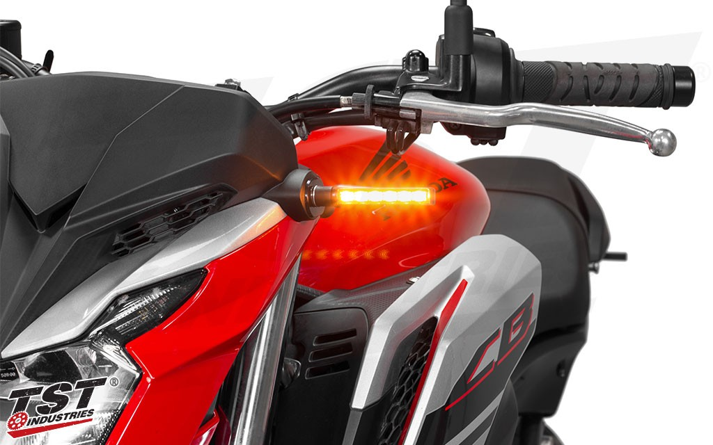 Update your CB650F with a modern and sleek turn signal.