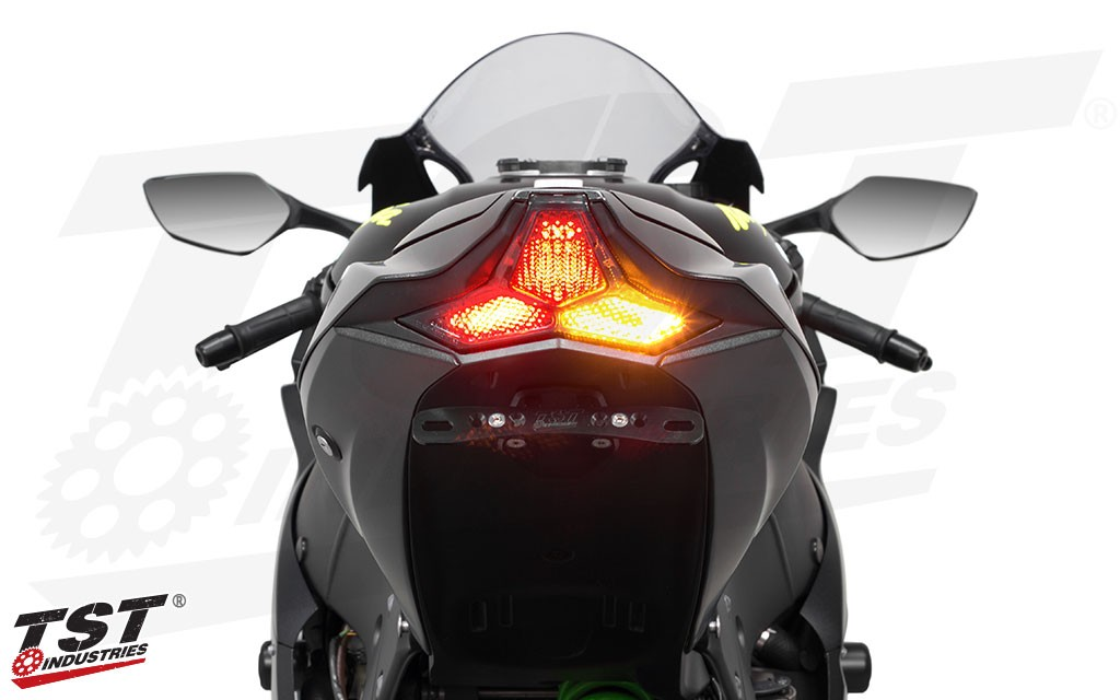 TST LED Integrated Tail Light for Kawasaki ZX-10R 2016+