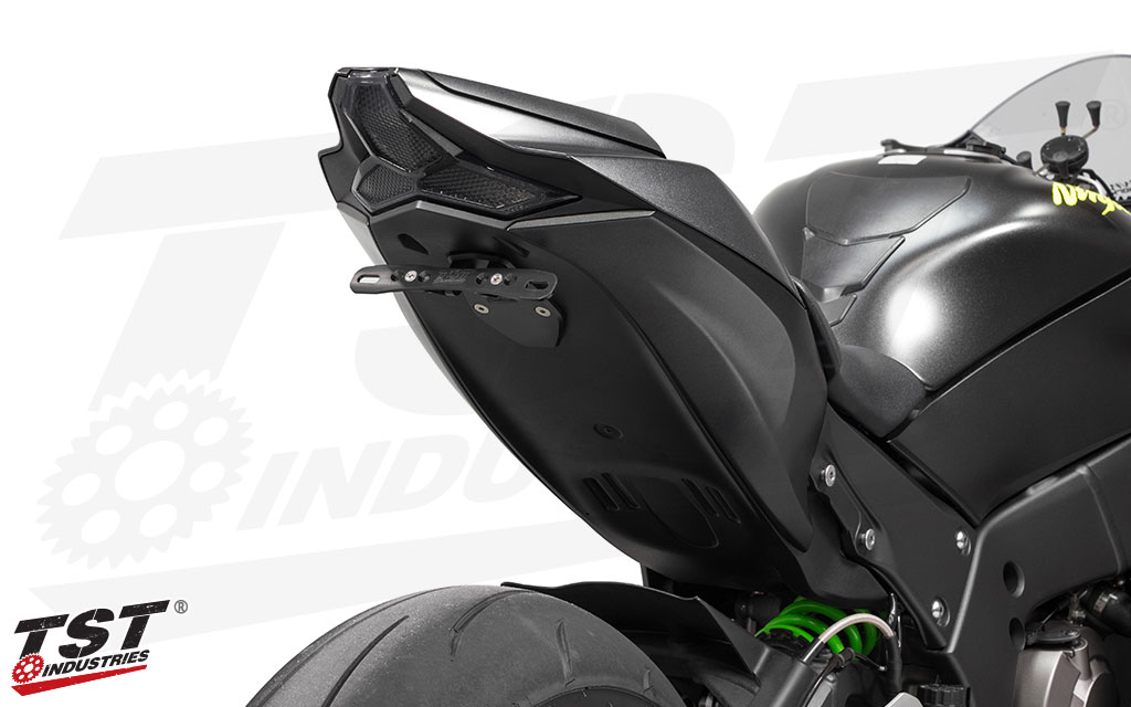 Clean up the gail of your ZX-10R with the TST LED Integrated Tail Light.