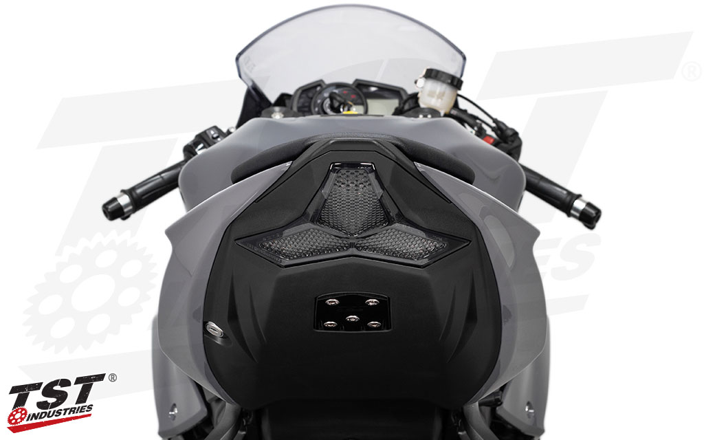 TST LED Integrated Tail Light for Kawasaki ZX6R 2019+