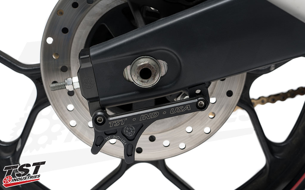 Make removing and installing the rear wheel a quick and easy job.