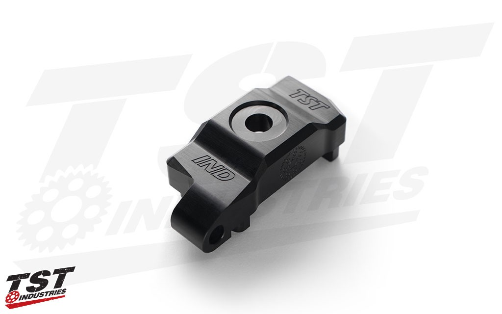 TST Captive Chain Adjuster retention blocks.