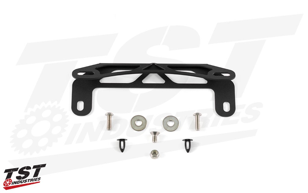 What's Included in the TST Industries Fixed Low Fender Eliminator Kit for the 2014-2016 Yamaha FZ-09 / MT-09.