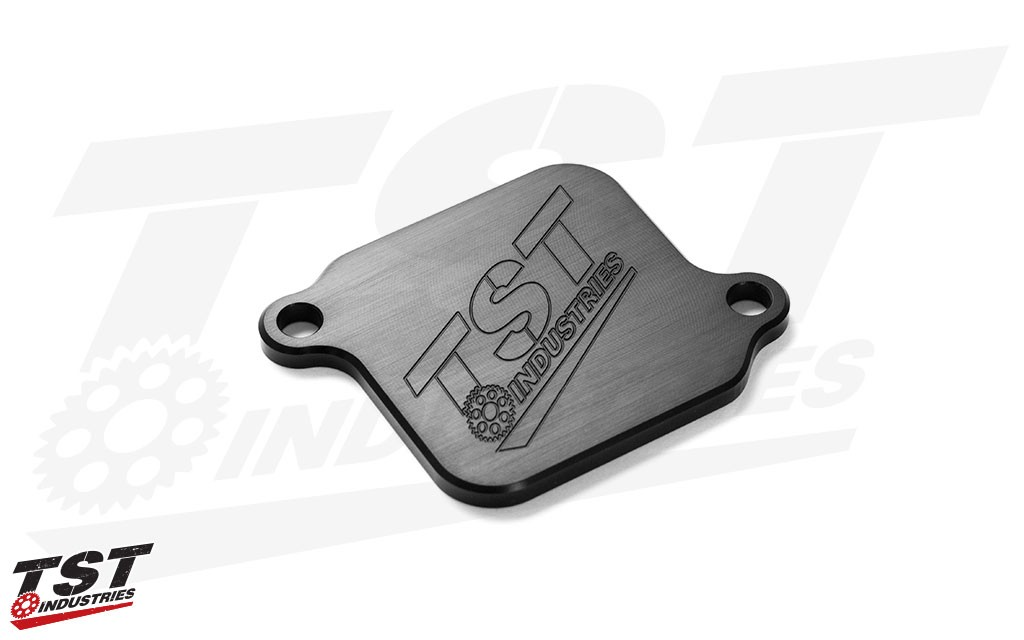 Remove your Kawasaki Ninja 400 or Z400 AIS system with the TST Emission Block Off Kit.