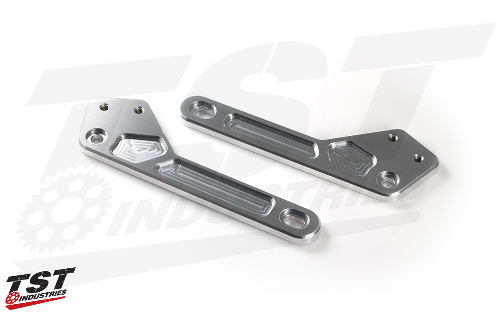 CNC machined aluminum mounting brackets provide exceptional structural integrity.