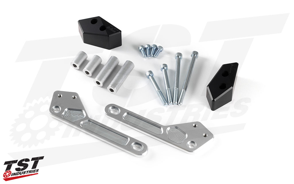 We include all necessary mounting hardware, mounting brackets, and sliders.