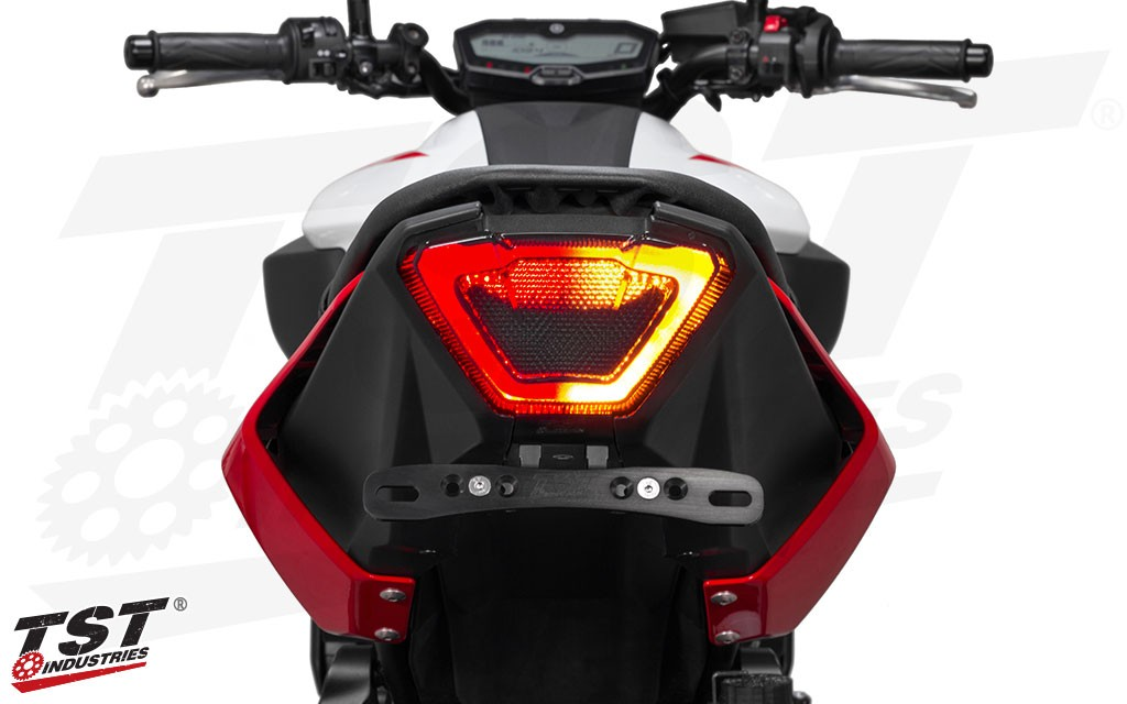TST LED Integrated Tail Light for Yamaha MT-07 2018+.