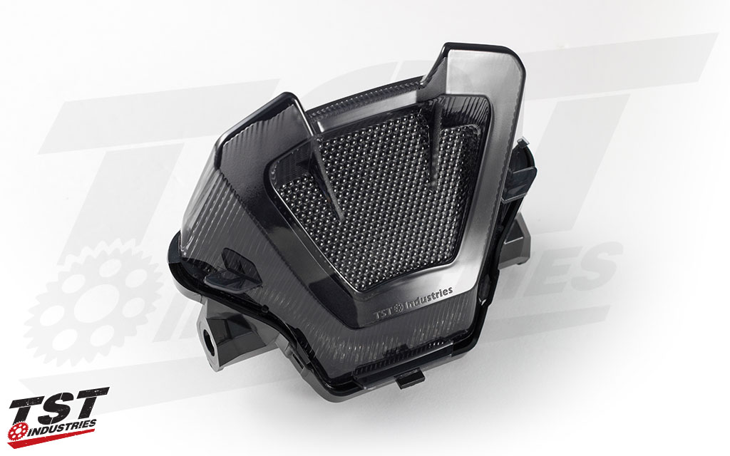 Smoked LED Integrated Tail Light for the 2018+ Yamaha MT-07 by TST Industries.