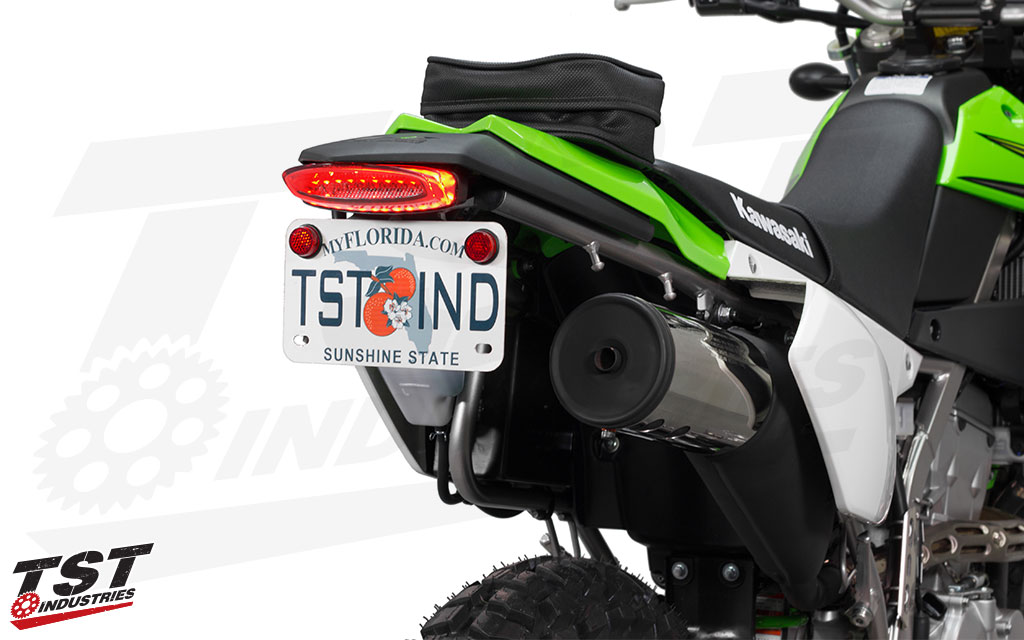 66 bright LEDs ensure that your are seen on the road in daylight or nighttime riding.