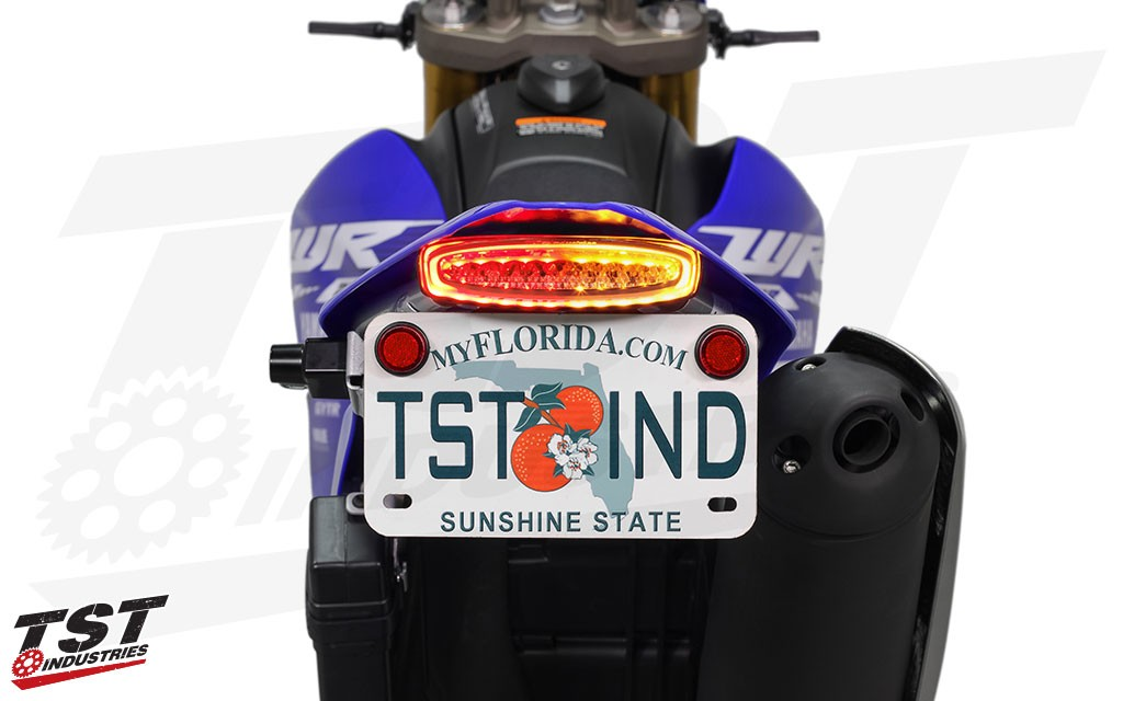 TST LED Integrated Tail Light and Fender Eliminator System for the 2008+ Yamaha WR250R / WR250X.